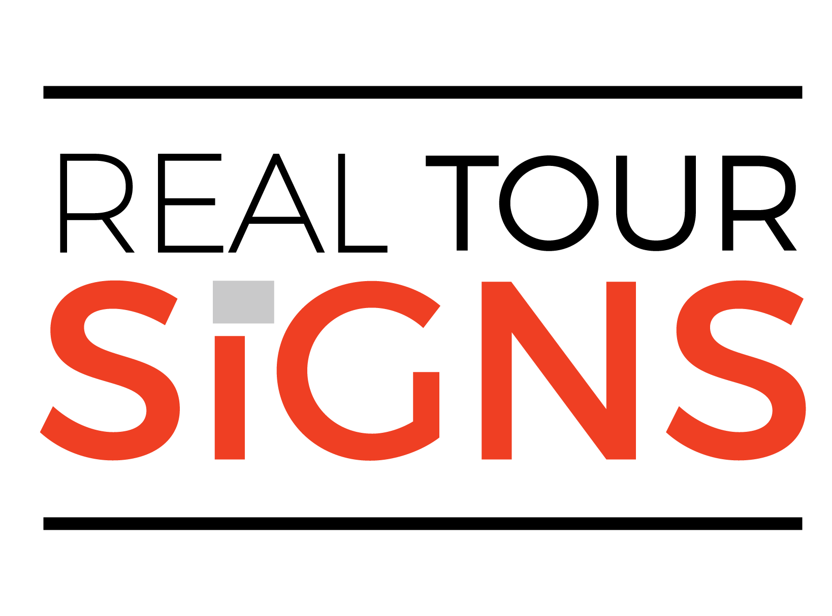 Real Tour Signs